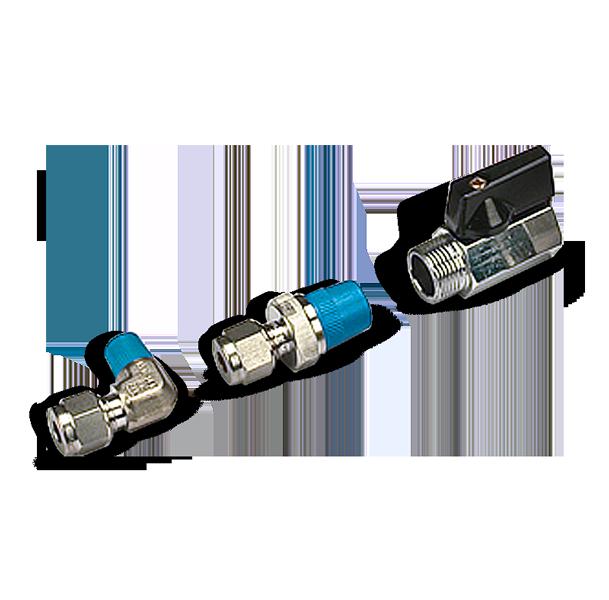 Val-Fluid tecnologies Raccordi-metallo-e-Blu