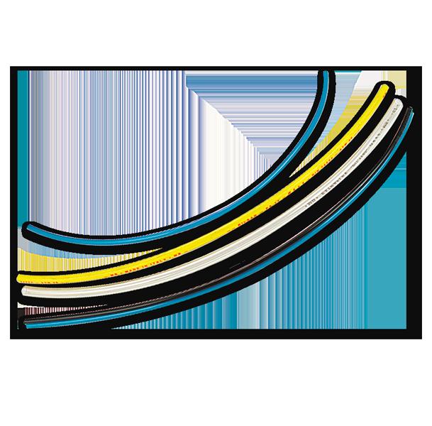 Val-Fluid tecnologies Tubi-flessibili-multicolor